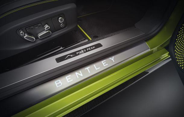 Bentley lansează o ediție specială Continental GT pentru a celebra recordul de la Pikes Peak: britanicii vor produce doar 15 exemplare - Poza 6