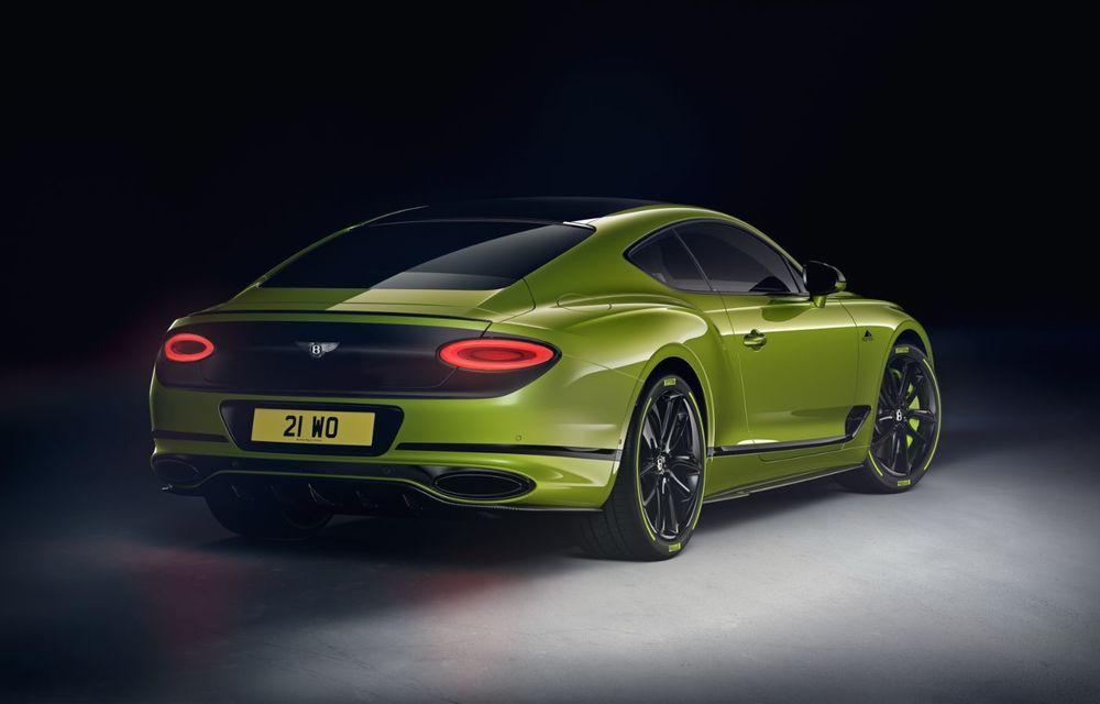 Bentley lansează o ediție specială Continental GT pentru a celebra recordul de la Pikes Peak: britanicii vor produce doar 15 exemplare - Poza 3