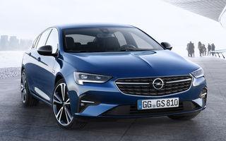 Primele imagini și detalii despre Opel Insignia facelift: modificări minore de design