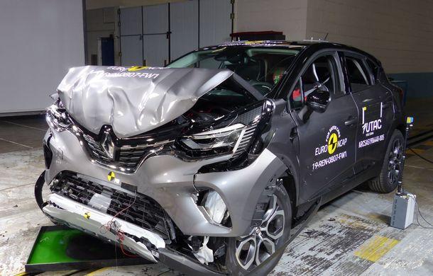 Euro NCAP: 12 modele testate în cea mai nouă sesiune. 5 stele pentru Octavia, Captur, Kuga, Taycan și Model X, 4 stele pentru Peugeot 2008 - Poza 20