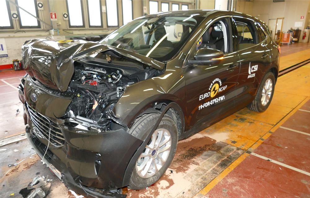 Euro NCAP: 12 modele testate în cea mai nouă sesiune. 5 stele pentru Octavia, Captur, Kuga, Taycan și Model X, 4 stele pentru Peugeot 2008 - Poza 5