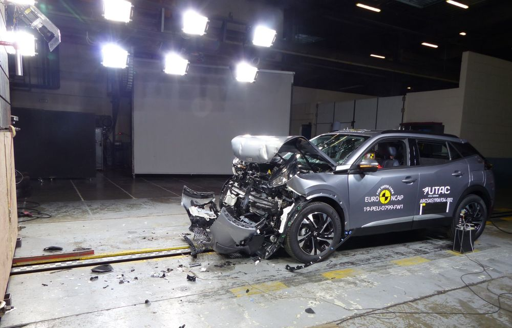 Euro NCAP: 12 modele testate în cea mai nouă sesiune. 5 stele pentru Octavia, Captur, Kuga, Taycan și Model X, 4 stele pentru Peugeot 2008 - Poza 18