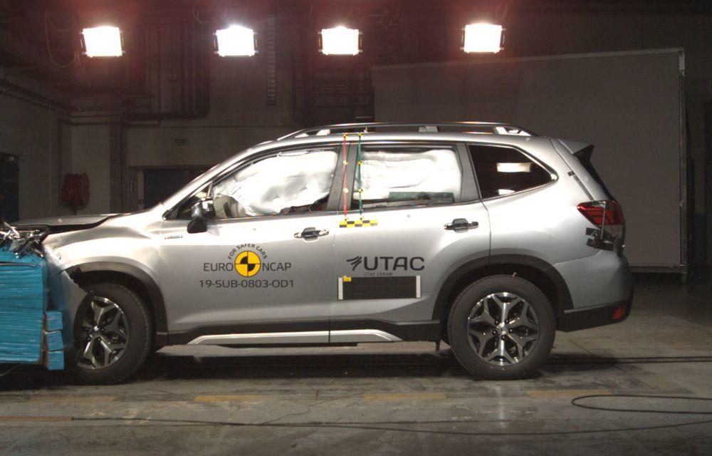 Euro NCAP: 12 modele testate în cea mai nouă sesiune. 5 stele pentru Octavia, Captur, Kuga, Taycan și Model X, 4 stele pentru Peugeot 2008 - Poza 16