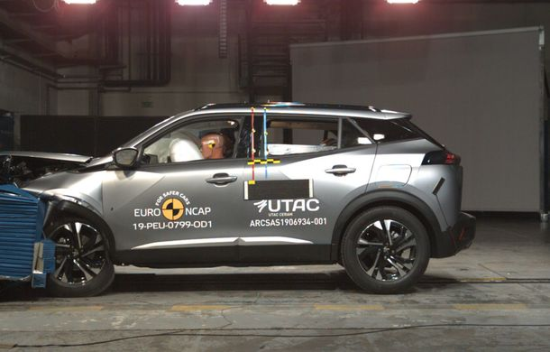 Euro NCAP: 12 modele testate în cea mai nouă sesiune. 5 stele pentru Octavia, Captur, Kuga, Taycan și Model X, 4 stele pentru Peugeot 2008 - Poza 19