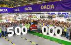 Motive de sărbătoare la Mioveni: actuala generație Dacia Duster a atins pragul de 500.000 de unități produse