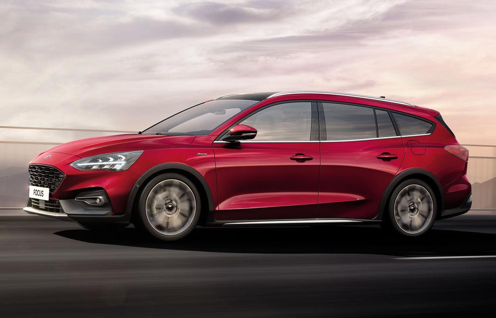 Ford Focus va primi noua versiune Active X Vignale: jante de 17 inch, faruri LED și volan din piele - Poza 3