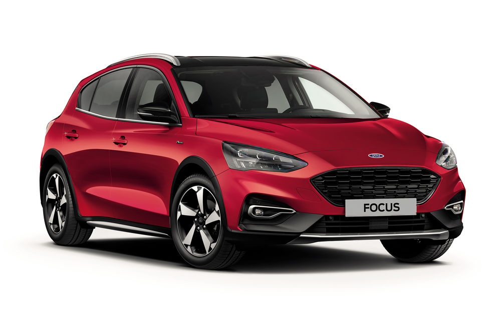 Ford Focus va primi noua versiune Active X Vignale: jante de 17 inch, faruri LED și volan din piele - Poza 2
