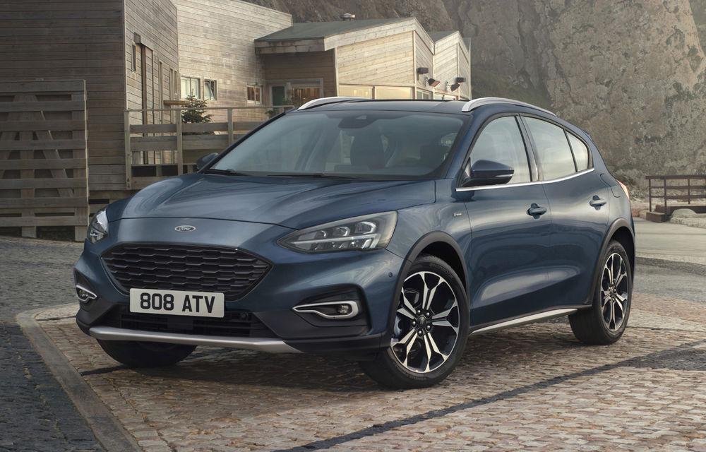 Ford Focus va primi noua versiune Active X Vignale: jante de 17 inch, faruri LED și volan din piele - Poza 1