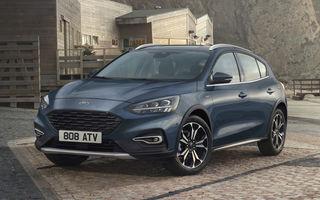 Ford Focus va primi noua versiune Active X Vignale: jante de 17 inch, faruri LED și volan din piele