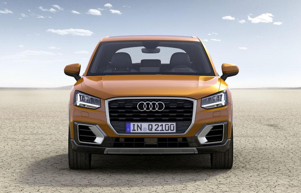 Informații despre viitorul Audi Q2 facelift: SUV-ul producătorului german va fi prezentat în 2020 și avea motorizări mild-hybrid - Poza 1