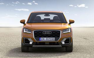 Informații despre viitorul Audi Q2 facelift: SUV-ul producătorului german va fi prezentat în 2020 și avea motorizări mild-hybrid