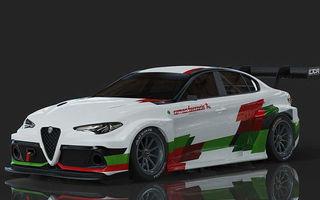 Alfa Romeo Giulia va primi o versiune electrică de circuit: modelul va concura în viitorul sezon Electric TCR