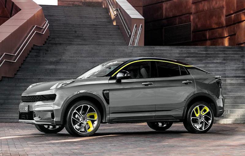 Chinezii de la Lynk&Co au prezentat noul 05: SUV-ul coupe va avea și versiune plug-in hybrid - Poza 1