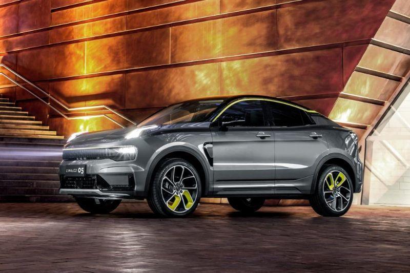 Chinezii de la Lynk&Co au prezentat noul 05: SUV-ul coupe va avea și versiune plug-in hybrid - Poza 3