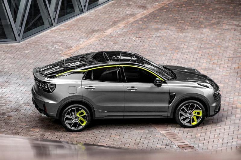 Chinezii de la Lynk&Co au prezentat noul 05: SUV-ul coupe va avea și versiune plug-in hybrid - Poza 4