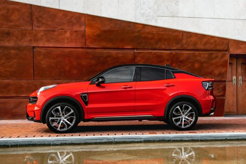 Chinezii de la Lynk&Co au prezentat noul 05: SUV-ul coupe va avea și versiune plug-in hybrid - Poza 9