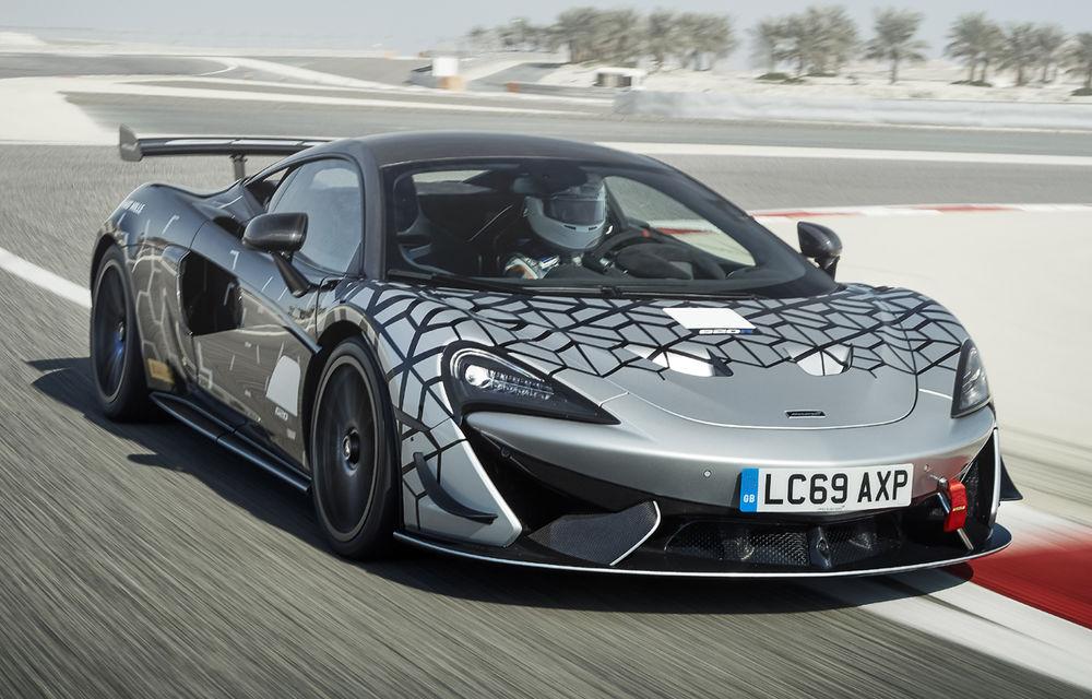 McLaren prezintă 620R: versiunea de stradă a modelului de curse 570S GT4 oferă 620 de cai putere - Poza 1