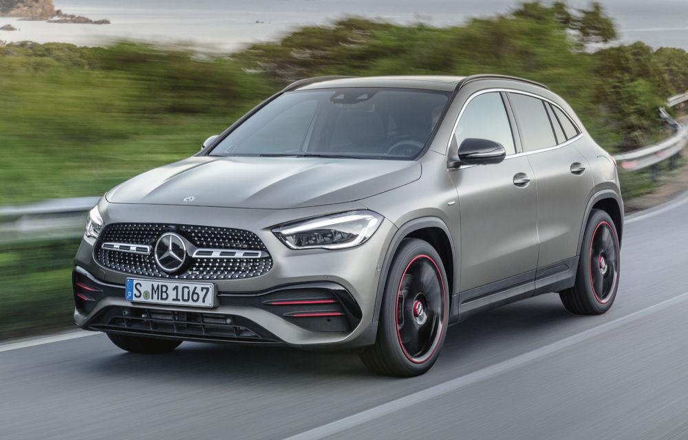 Noua generație Mercedes-Benz GLA: SUV-ul compact are motor de 1.33 litri și 163 CP și versiune AMG de peste 300 CP - Poza 1