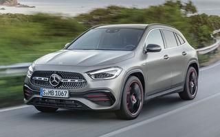 Noua generație Mercedes-Benz GLA: SUV-ul compact are motor de 1.33 litri și 163 CP și versiune AMG de peste 300 CP