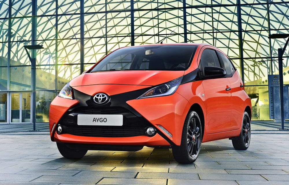"""Viitoarea generație Toyota Aygo ar putea avea doar versiune electrică: """"Unele orașe acceptă doar mașini electrice în centru"""" - Poza 1"""