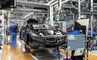 BMW i8 a atins un total de 20.000 de exemplare la fabrica din Leipzig: modelul va ieși din producție în aprilie 2020