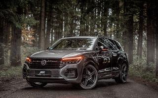 ABT a dezvoltat un pachet de performanță pentru Volkswagen Touareg: motorul diesel V8 oferă acum 500 CP și 970 Nm