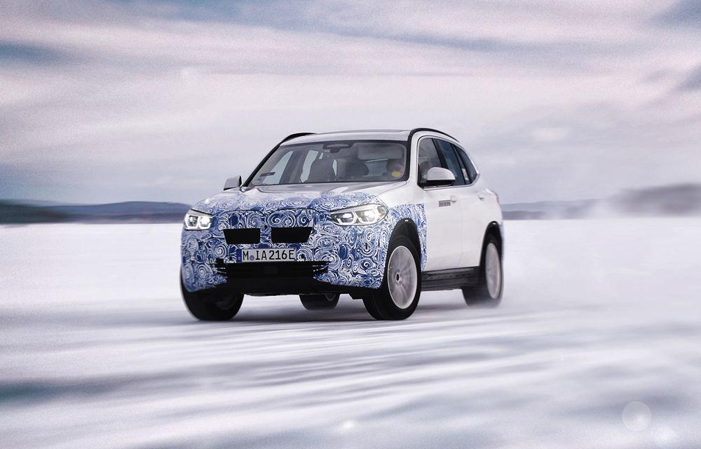 Informații oficiale despre viitorul BMW iX3: SUV-ul electric va avea aproape 290 CP și autonomie de peste 440 de kilometri - Poza 1