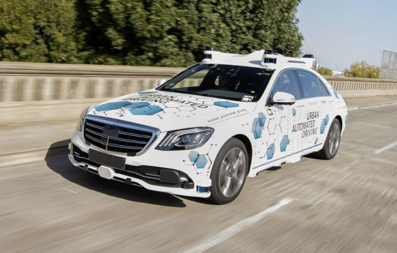 Proiect-pilot: Mercedes și Bosch vor testa o aplicație de ride-hailing cu mașini autonome - Poza 1