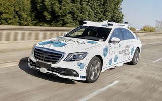 Proiect-pilot: Mercedes și Bosch vor testa o aplicație de ride-hailing cu mașini autonome