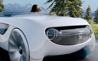 Honda va prezenta în ianuarie un concept autonom inedit: volanul va putea fi utilizat pentru accelerație și frână