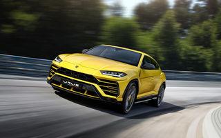 Lamborghini va avea record de vânzări în 2019, cu 8.200 de unități: 55% din total, în dreptul lui Urus