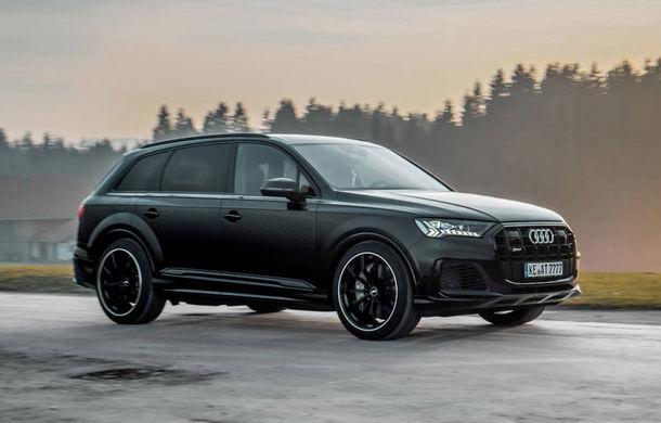 Îmbunătățiri pentru Audi SQ7: motorul diesel V8 dezvoltă acum 510 CP mulțumită pachetului propus de ABT - Poza 2
