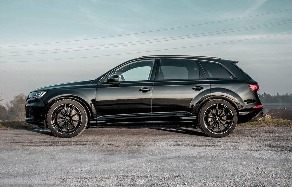 Îmbunătățiri pentru Audi SQ7: motorul diesel V8 dezvoltă acum 510 CP mulțumită pachetului propus de ABT - Poza 3