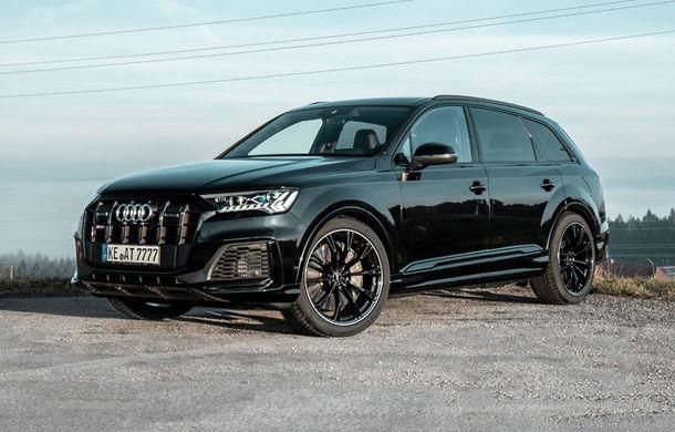 Îmbunătățiri pentru Audi SQ7: motorul diesel V8 dezvoltă acum 510 CP mulțumită pachetului propus de ABT - Poza 1