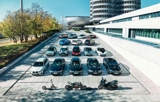 Grupul BMW a livrat 500.000 de vehicule electrificate: nemții vor ca până în 2021 să ajungă la un milion de unități comercializate - Poza 1