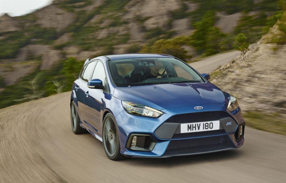 Viitoarea generație Ford Focus RS ar putea avea un sistem electrificat de propulsie: Hot Hatch-ul producătorului american va oferi peste 400 CP - Poza 1