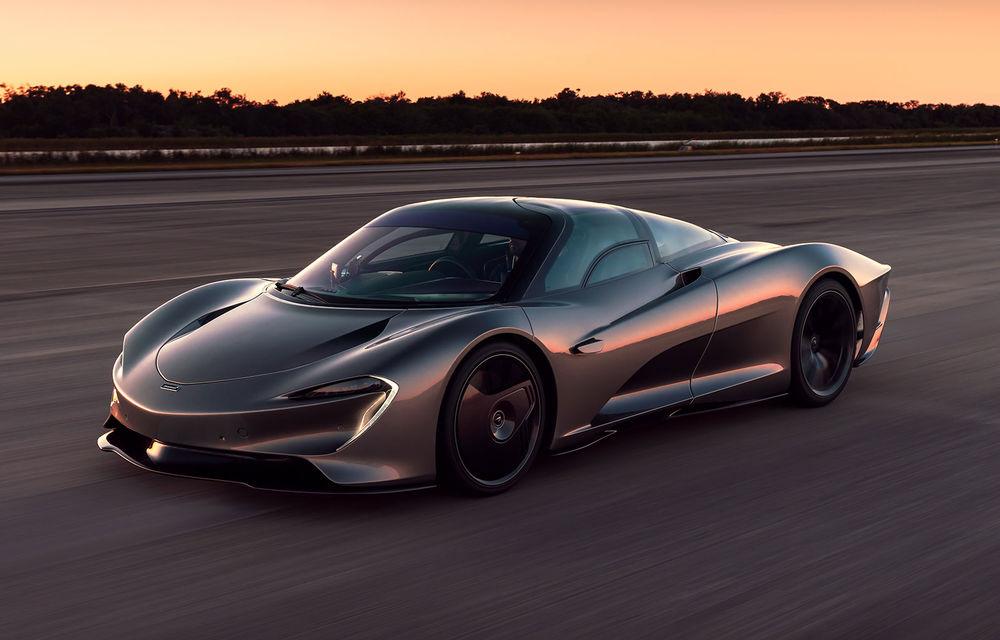 Speedtail este cel mai rapid McLaren de serie de până acum: hypercar-ul hibrid a depășit bariera celor 400 km/h - Poza 1