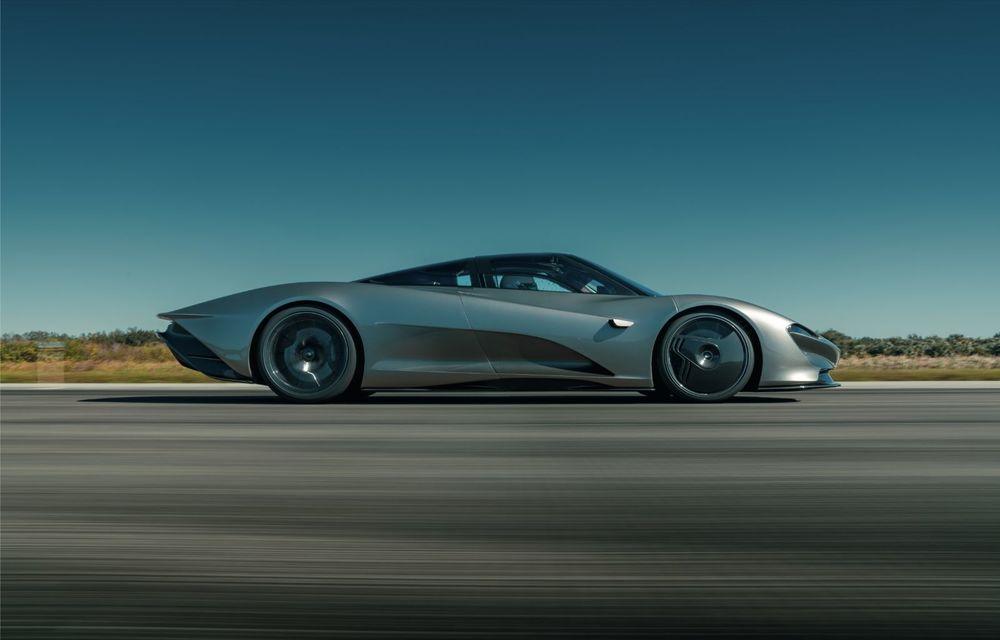Speedtail este cel mai rapid McLaren de serie de până acum: hypercar-ul hibrid a depășit bariera celor 400 km/h - Poza 10