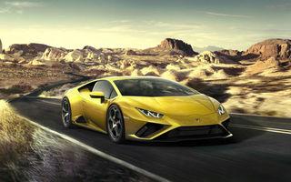 Lamborghini lansează Huracan Evo cu tracțiune spate: primele livrări vor începe în primăvara lui 2020