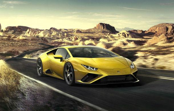 Lamborghini lansează Huracan Evo cu tracțiune spate: primele livrări vor începe în primăvara lui 2020 - Poza 1