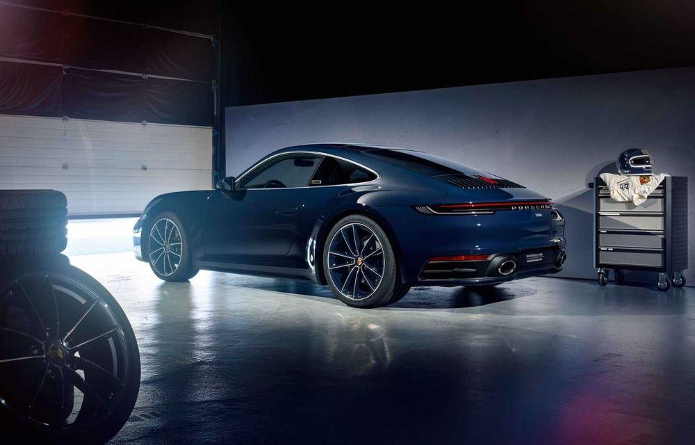 Porsche 911 Belgian Legend: ediția specială a fost gândită pentru aniversarea celor 75 de ani ai pilotului Jacky Ickx - Poza 3