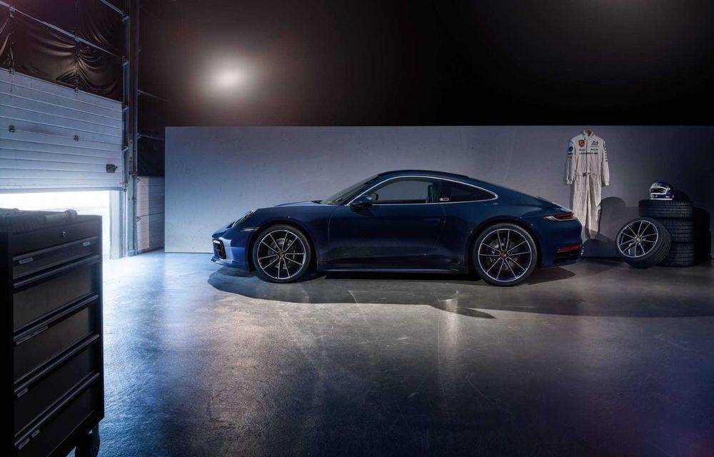 Porsche 911 Belgian Legend: ediția specială a fost gândită pentru aniversarea celor 75 de ani ai pilotului Jacky Ickx - Poza 2