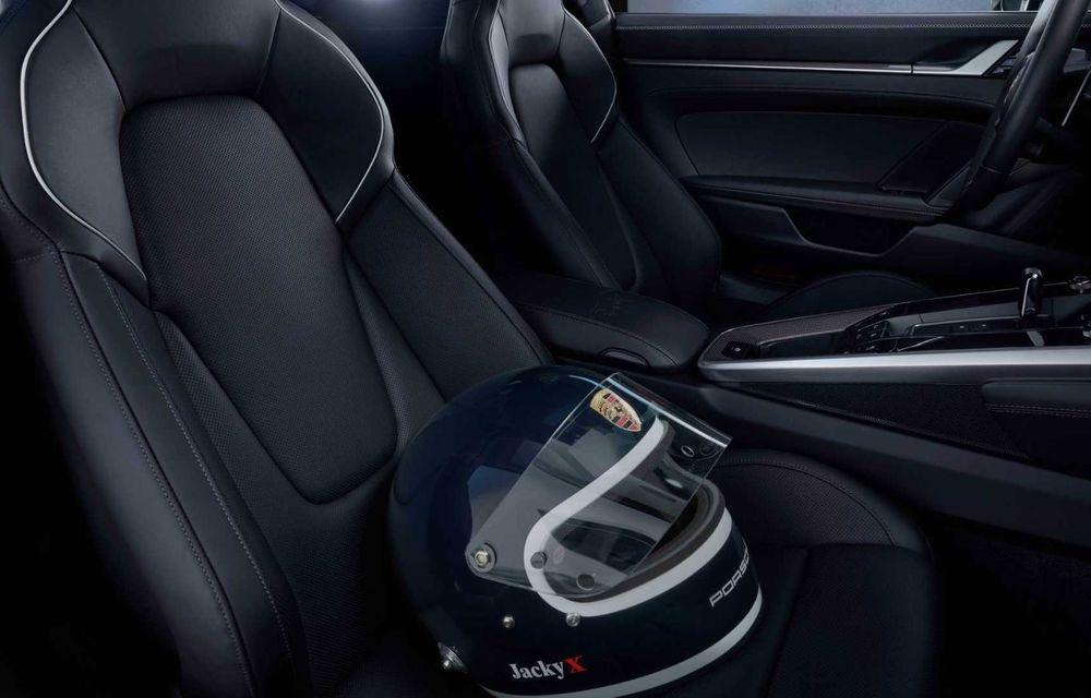 Porsche 911 Belgian Legend: ediția specială a fost gândită pentru aniversarea celor 75 de ani ai pilotului Jacky Ickx - Poza 6