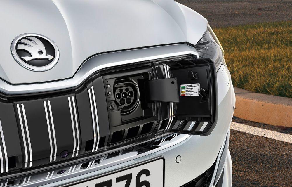 Modelele electrificate Skoda ajung și în România: Citigo electric pleacă de la 20.000 de euro, iar Superb iV PHEV are un preț de pornire de 33.400 de euro - Poza 4