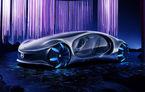 Mercedes-Benz a prezentat conceptul Vision AVTR: prototipul electric are o autonomie de până la 700 de kilometri și a fost inspirat de pelicula Avatar