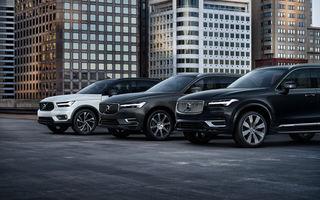 Volvo a stabilit un nou record de vânzări: peste 700.000 de mașini la nivel global în 2019, dintre care 63% au fost SUV-uri