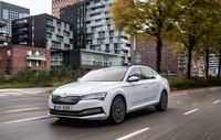 Test drive Skoda Superb facelift