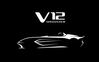 Aston Martin pregătește supercarul V12 Speedster: motor V12 de 700 CP și producție de doar 88 de exemplare