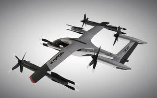 Hyundai prezintă un vehicul zburător electric dezvoltat cu Uber: altitudine de zbor de până la 600 de metri și autonomie de 100 de kilometri