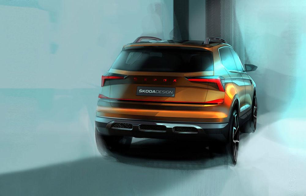 Schițe noi cu viitorul concept Skoda Vision IN: versiunea de serie va fi comercializată exclusiv pe piața din India - Poza 2